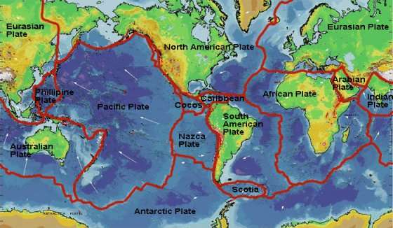 Lesson Geography For Life - World fault lines